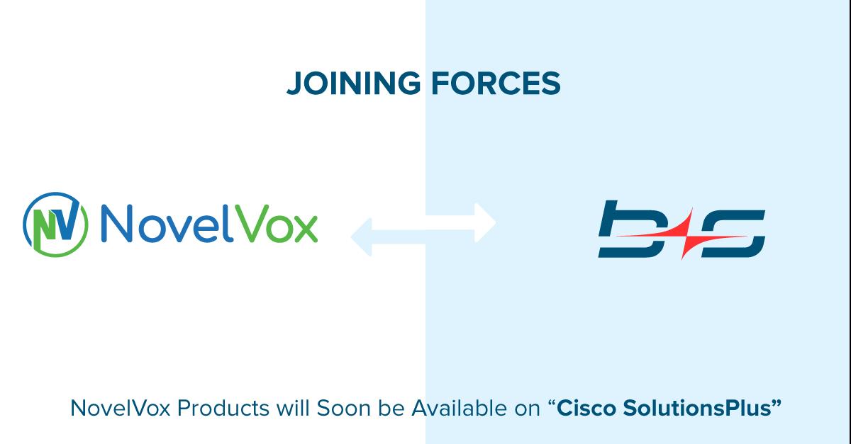 NovelVox partnership with Bucher + Suter